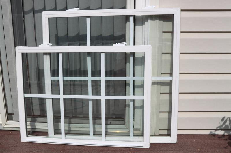 uninstalled windows left on the ground