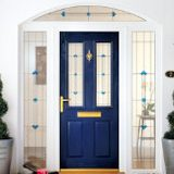 front blue home composite-door